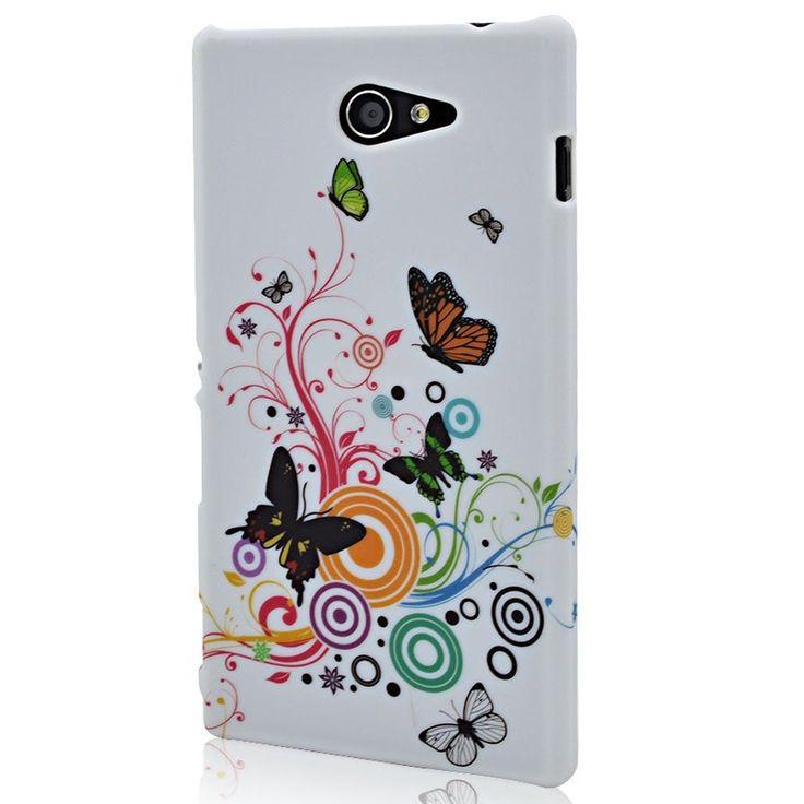 Φανταστικά σχέδια και απίστευτα χρώματα στις θήκες μας για το Sony Xperia M2.