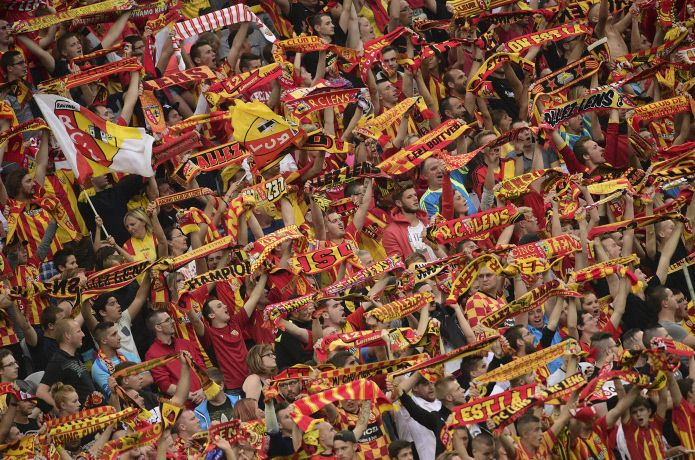 FOOTBALL : RC Lens vs Ac Ajaccio - coupe de la ligue - 11/08/2015