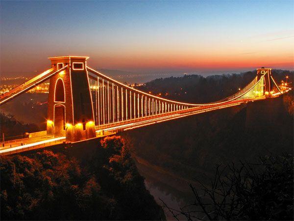 Clifton suspension bridge - Bristol. Lived from 1981-1990 1992-1994