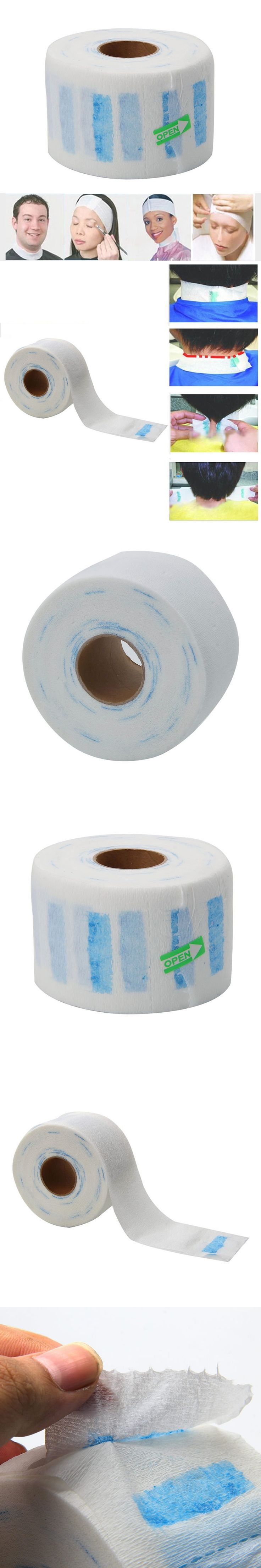 Professional Stretchy Disposable Neck Paper Roll for Barber Barber Salon Tools #Y207E# Hot Sale