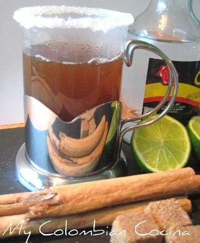 Canelazo or Sugar Tea with Aniseed