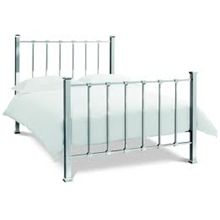 double metal beds