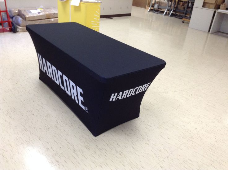 6ft Trade Show Stretch Table Cover (full color)