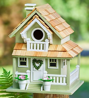 """My next birdhouse paint project (or sorta like it LOL ) This was with the flower gifts for Mothers Day at """"800-FLOWERS"""""""
