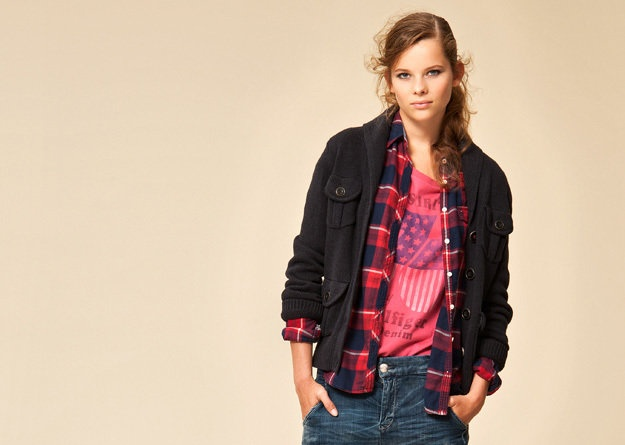 All American style arrives and denim, checks and stripes take over.
