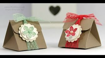 Pootles 6x6 Week #7 Fold Over Box Tutorial - YouTube