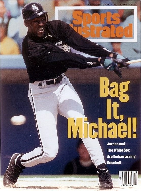 Michael Jordan Sports Illustrated cover, March 1994