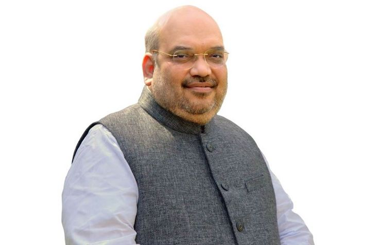 BJP's national president Amit Shah announced on Wednesday that Prime Minister Narendra Modi will soon be performing Narmada Poojan at Kevadia dam site.  Shah made this announcement while addressing 'booth presidents' of the party at a function in Nadiad.