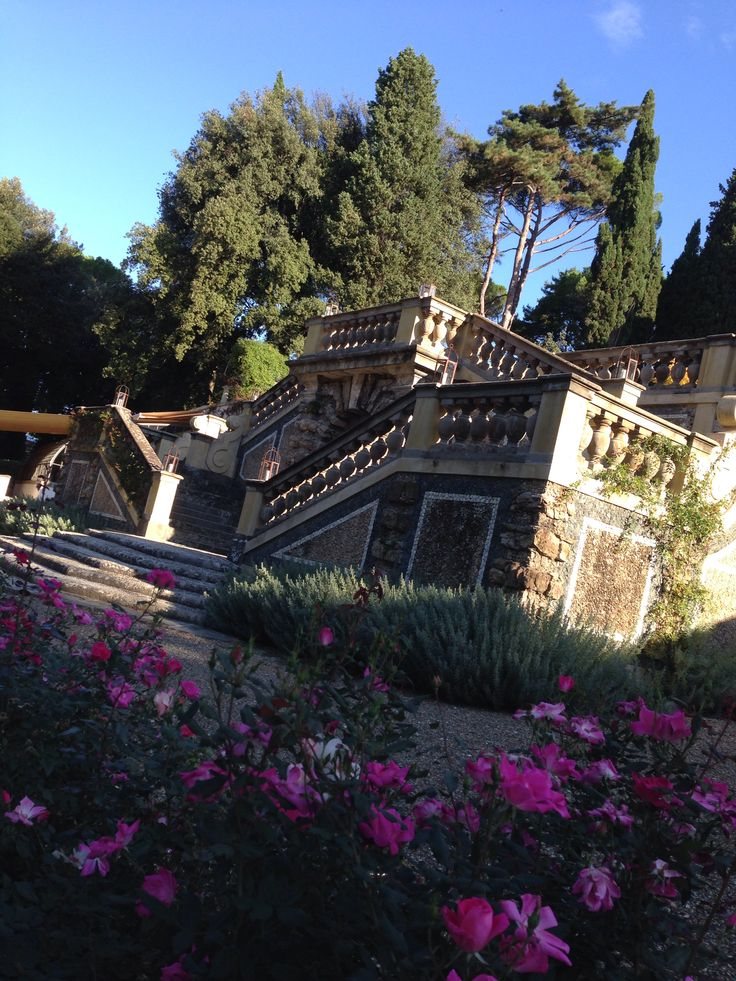 The Garden of hotel Il Salviatino, Florence. Beautiful.2013
