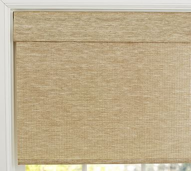 For Your Powder Room One Kitchen Window At Garage Natural Fiber Cordless Roman
