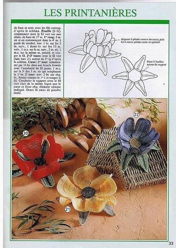 Edivana Croche: Irish Crochet, Crochet Stitches, Flowers