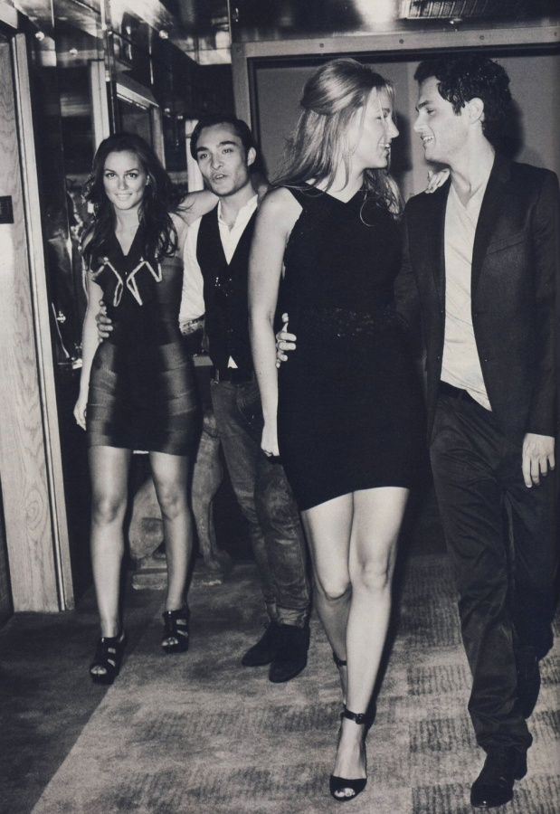 Leighton Meester, Ed Westwick, Blake Lively, and Penn Badgley- I think that the GG cast should have won an award for hands down the most gorgeous group of people working together