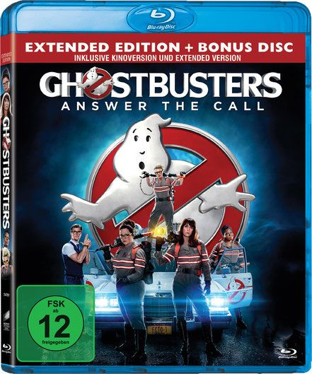 Ghostbusters Blu-ray - Columbia TriStar - Sony Home Entertainment - kulturmaterial - German Cover