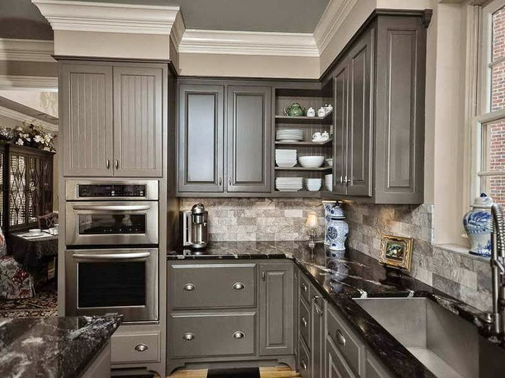 best Kitchen  on Pinterest  Kitchen Home and Upper cabinets