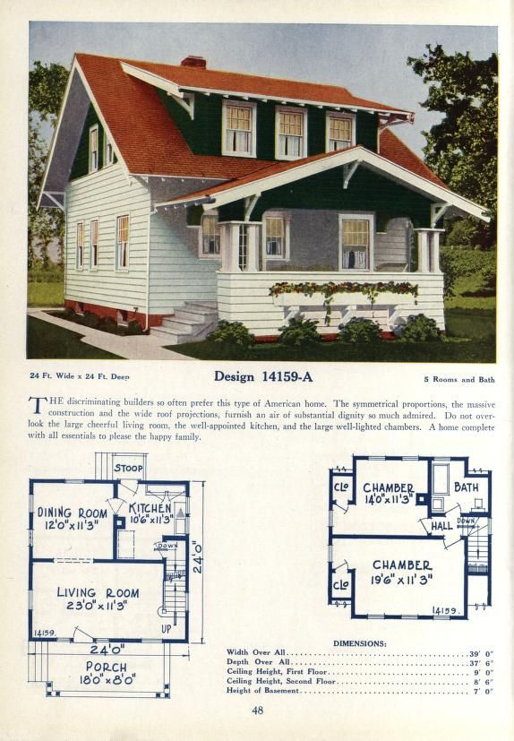 Deyo S Book Of Homes House Plans My House Plans Vintage House Plans