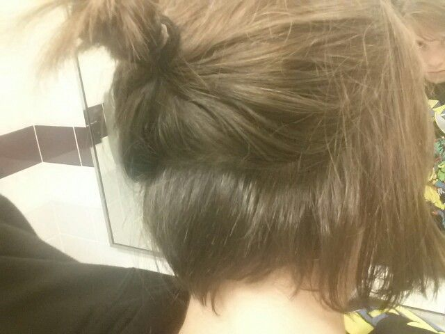 The undercut is growing out yeep!