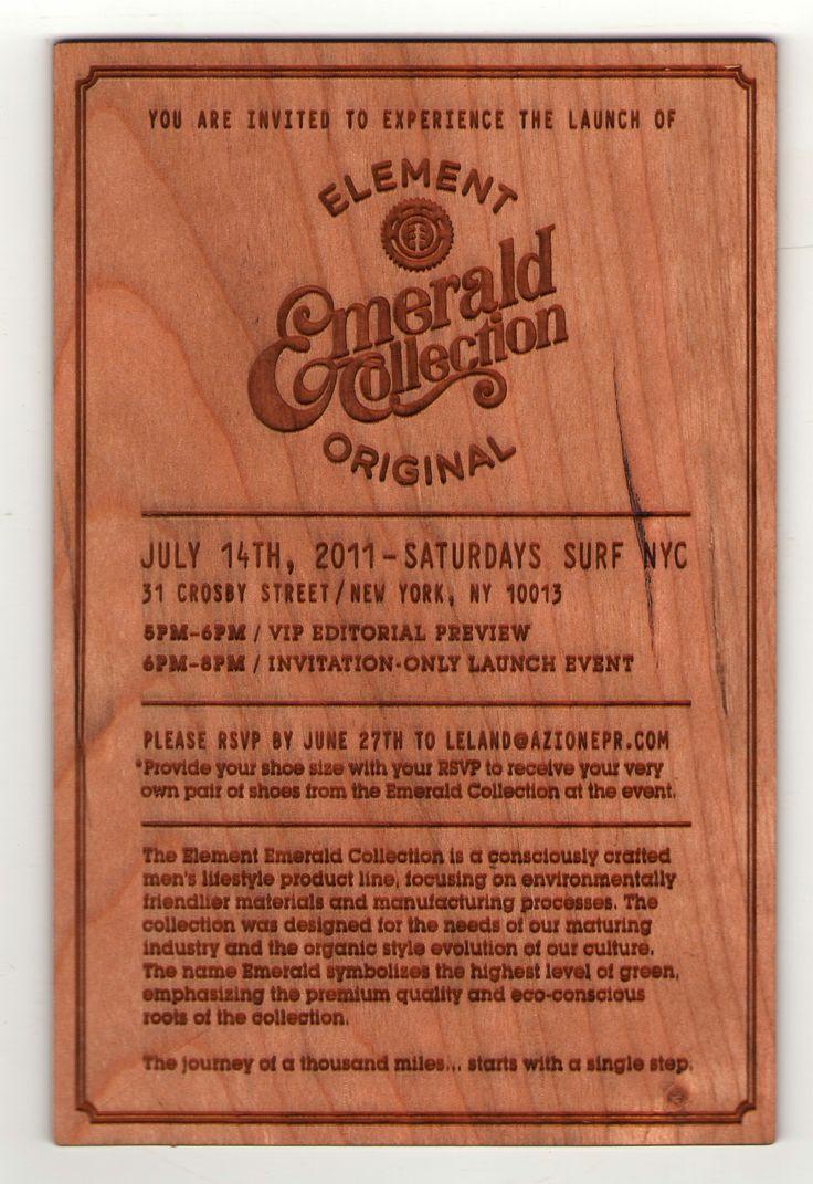 wedding invitations printed on wood%0A  woodinvitations  custom  engraved    Wood Wedding Invitations