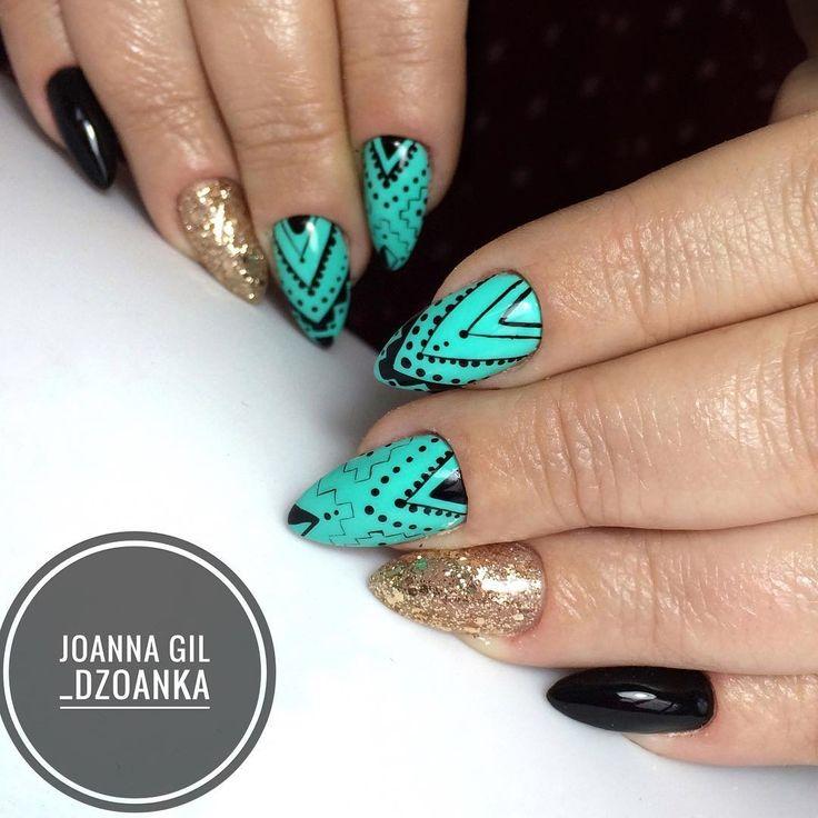 Freshmaker!◾️ @indigonails #indigo #indigolove #indigonails #indigolicious #nails #nailart #nailholic #nailstyle #nailartist #f4f…