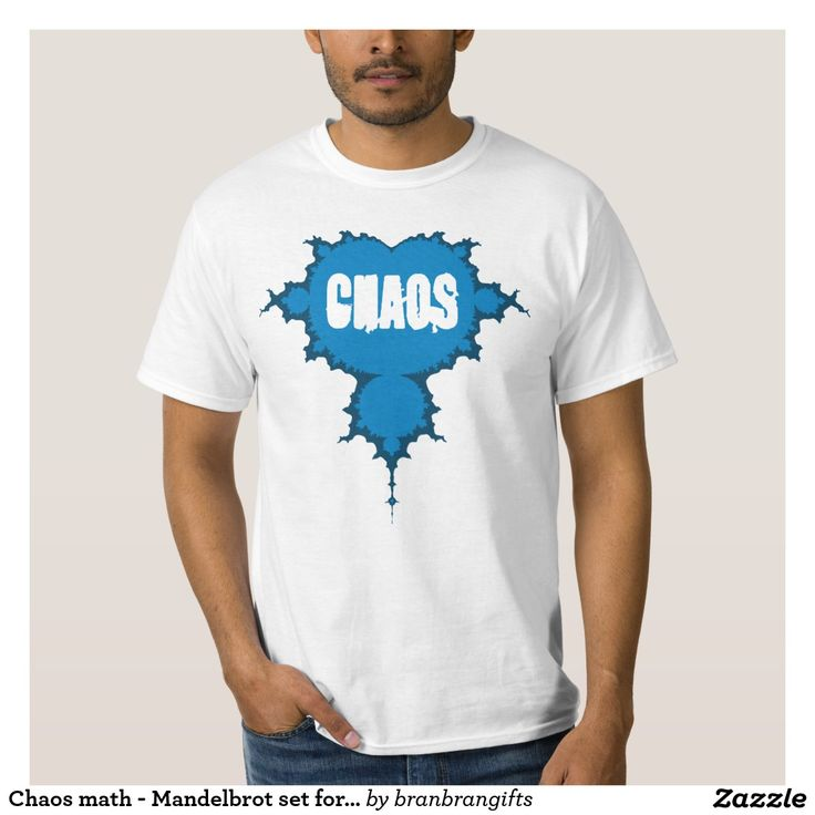 Chaos math - Mandelbrot set for STEM students T Shirts