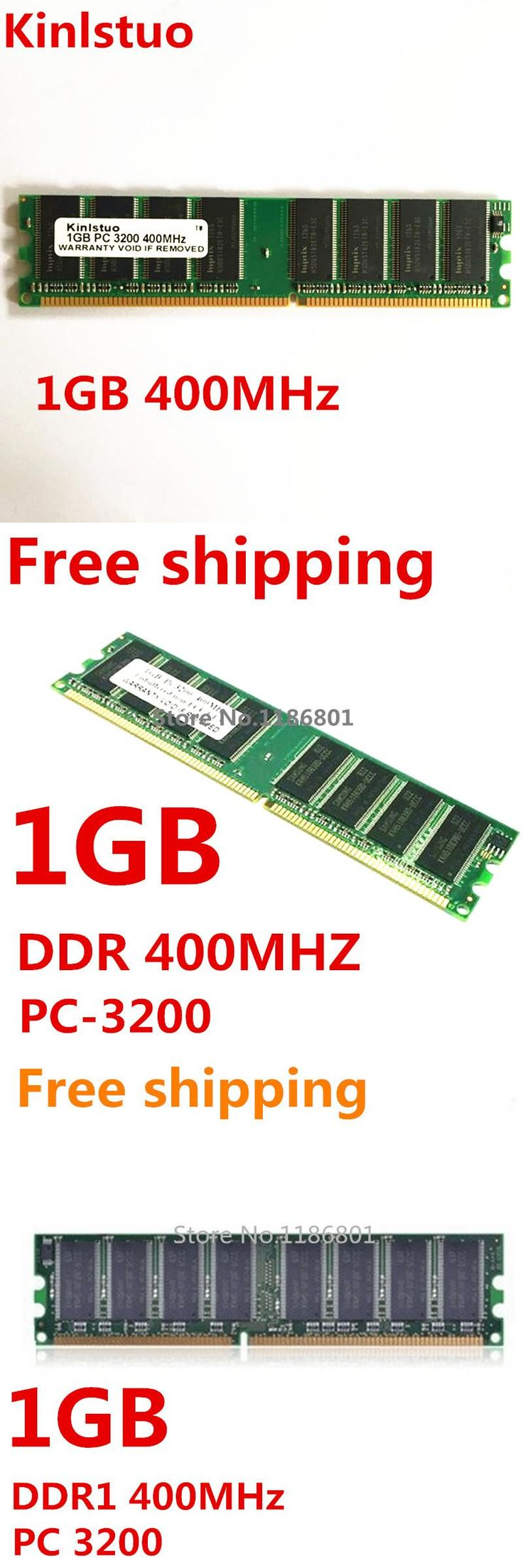 Brand New Sealed  DDR1  1GB 400MHz PC-3200  184PIN Desktop RAM   Memory (all compatible) 1gb ddr 400mhz Wholesale  Free shipping
