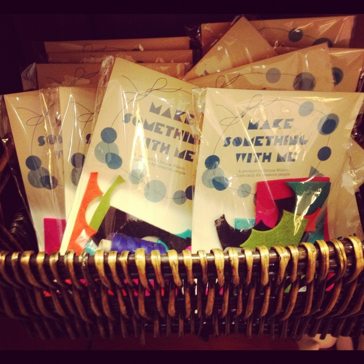 Check out these adorable 'Make Something With Me' Arts and Crafts Kits for kids sold at the Hammer Museum Store!