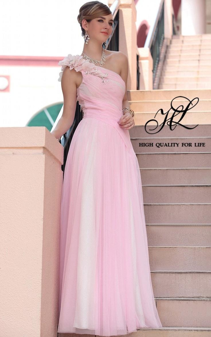 robes demoiselle d'honneur, robes demoiselle d'honneur, robes demoiselle d'honneur  http://www.robesoir.fr/par-l-evenement/532-floor-length-one-shoulder-pink-chiffon-a-line-barcelona30613.html#