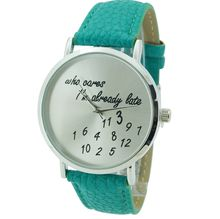 Teal Who Cares Watch