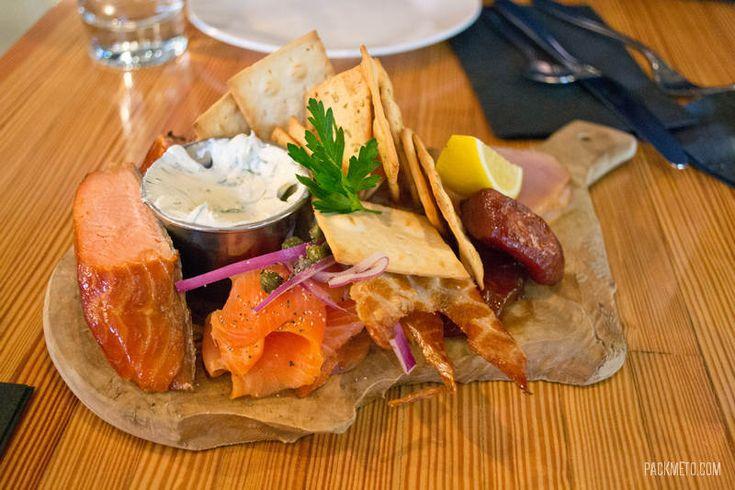 Tofino Fish Store and Oyster Bar Fish Sampler Platter