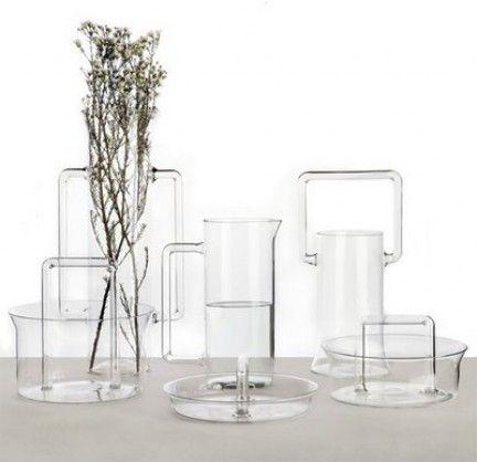Futile - Linha de utensílios de vidro da Secondome