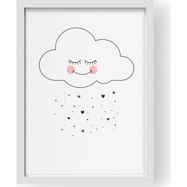 Affiche Doux nuage (A3) - Lillemor