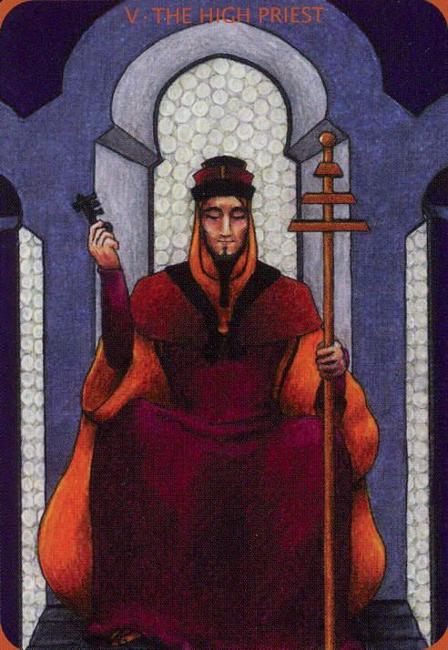 Decameron Tarot Deck Boxed 78 Card Set With Instruction: The Hierophant Images On Pinterest