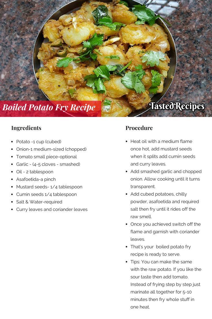 Boiled Potato Fry Recipe Bangaladumpa Vepudu Recipe In 2020