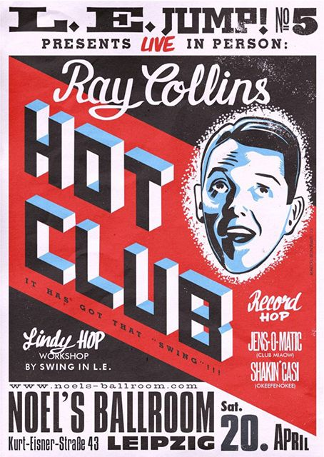 Ray Collins Hot Club at Leipzig