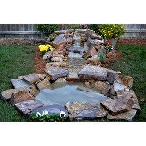 Stream Bed In A Boxu2122 Waterfall Stream U0026 Pond Kit At Costco | Wisteria And Sunshine | Pinterest ...