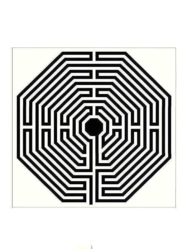 Labirinto de Amiens - Este gráfico possuí uma energia poderosa que permite restabelecer a saúde. Podemos energizar a água para fins terapêuticos, obter um sono tranquilo , curar dores de cabeça, insônia. Protege e limpa ambientes de energias telúricas ou vibrações indesejáveis.