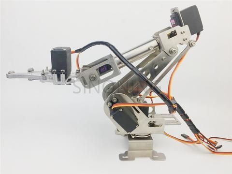 New 6DOF robotic Arm claw stainless steel 6 Axis Clamp