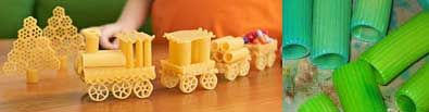 Giochi di pasta e lavoretti per bambini