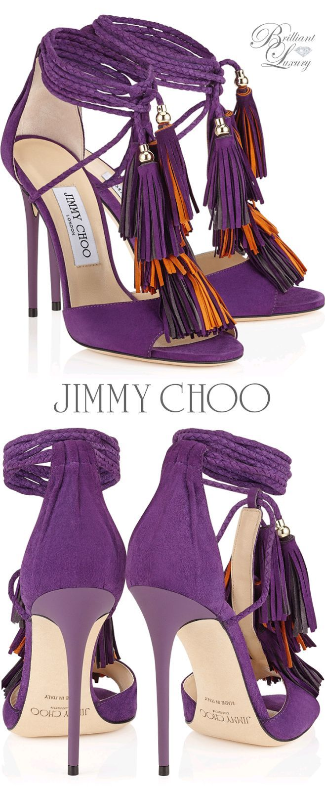 Brilliant #Luxury * Jimmy Choo 'Mindy' FW 2015 www.pinterest.com...