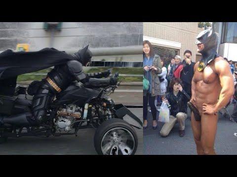 【チバットマン】千葉のバットマン チバットマン目撃映像まとめChi Batman Appeared  Eyewitness Report