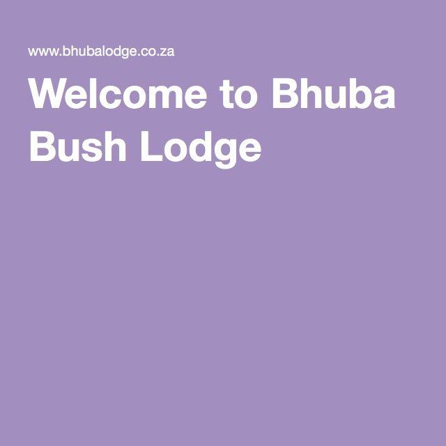 Welcome to Bhuba Bush Lodge