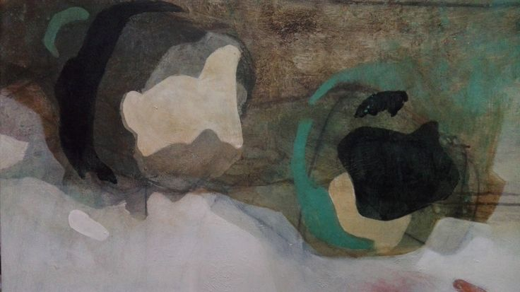 Diletta Boni - Untitled - Febbraio 2017 - Arylic on canvas - WIP1 detail