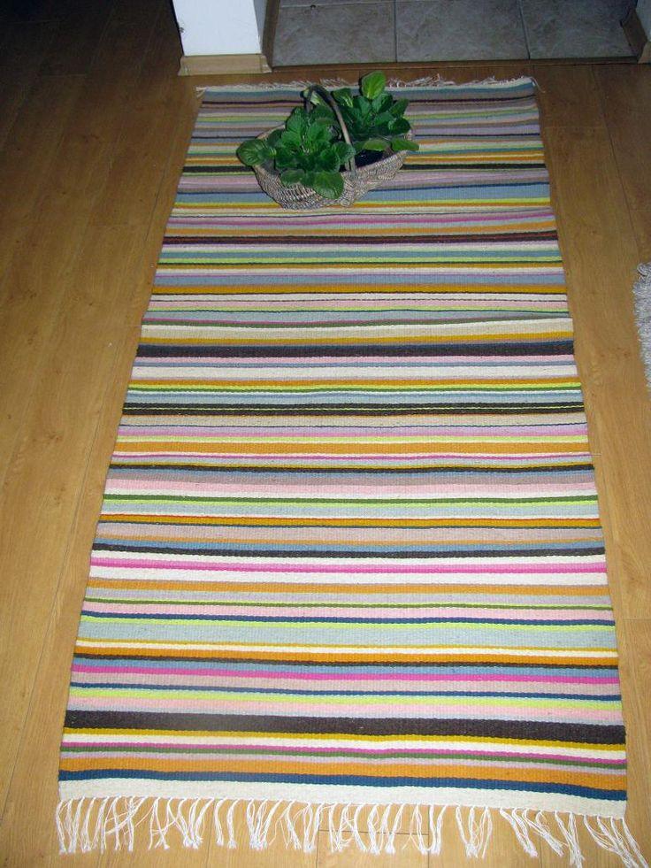 Colorful wool rug