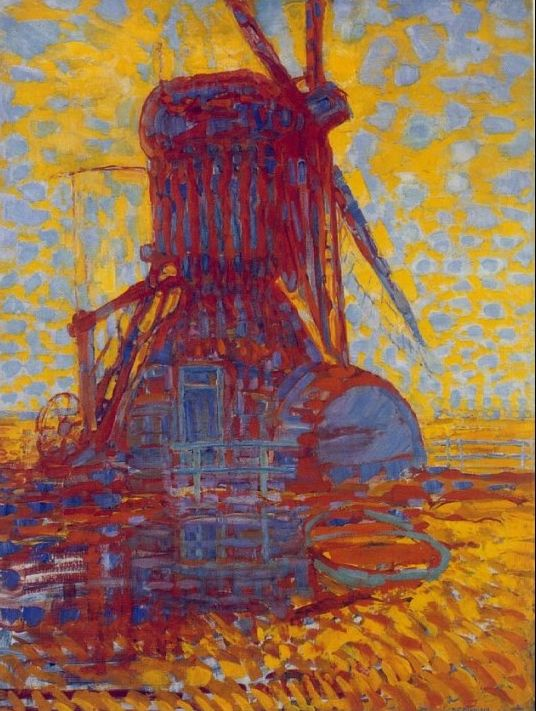 Piet Mondrian - Mulino assolato - 1908 - L'Aia, Gemeentemuseum