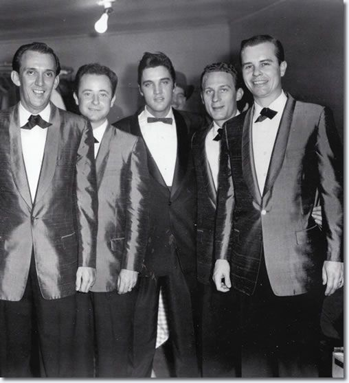 The Jordanaires : Hugh Jarrett : Gordon Stoker, Elvis Presley : Neal Matthews : Hoyt Hawkins.
