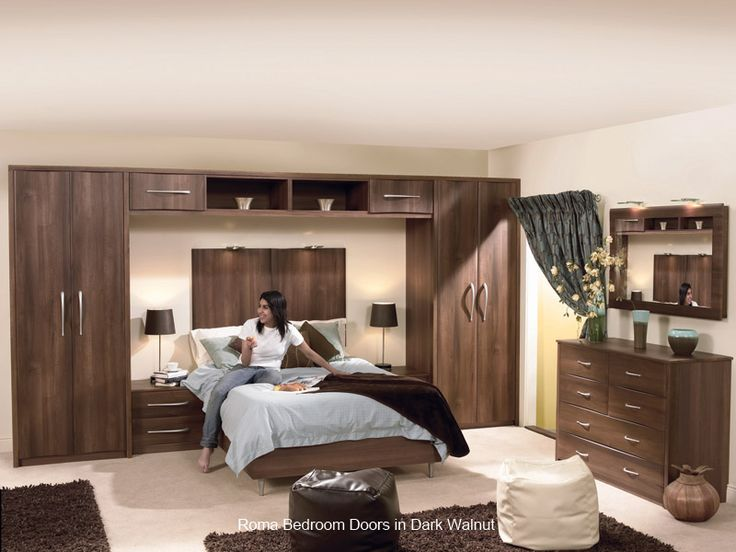Built In Bedroom Furniture Designs Roma  Replacement Bedroom Wardrobe Door  #custom Made #decor