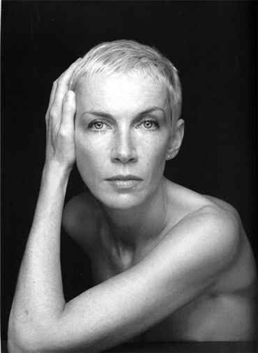 Annie Lennox. A voice that can cut glass combined with her edgy awkwardness ... Totally Arresting!