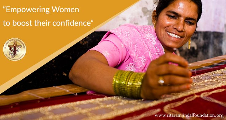 Empowering women to boost their confidence – requires a multipronged approach:-  education, life skills, vocational training, awareness, healthcare and fighting against gender inequality. The Foundation is a firm believer in equal rights for all irrespective of their gender, caste or economic  status and all our activities are founded on the basic principle of equality of human beings. Check out http://www.sitaramjindalfoundation.org/vision-and-mission.php to learn more about our principles…