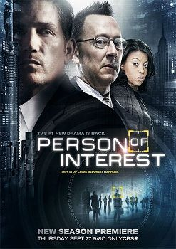 Person of Interest (2011– ) - Stars: Jim Caviezel, Taraji P. Henson, Kevin Chapman.  -  An ex-assassin and a wealthy programmer save lives via a surveillance AI that sends them the identities of civilians involved in impending crimes. However, the details of the crimes--including the civilians' roles--are left a mystery.  - ACTION / DRAMA / MYSTERY
