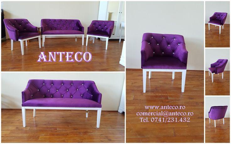 Producator de fotolii si canapele fabrica Anteco din Ploiesti va ofera : fotolii si canapele Denis
