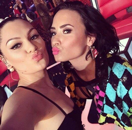 Jessie J & Demi Lovato